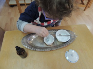 Children love science baking soda and vinegar